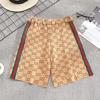 GG new summer thin loose five-point shorts