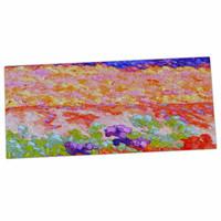 "Jeff Ferst ""Earthly Delights"" Floral Abstract Desk Mat"
