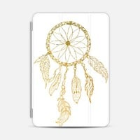 DREAMCATCHER IN GOLD AND WHITE - IPAD PHOTO COVER iPad Mini 1/2/3 case by Nika Martinez   Casetify