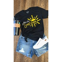 Walking On Sunshine Graphic Tee (XS-3XL)
