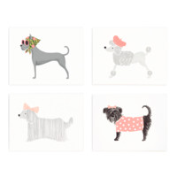 Girlie Dog Boxed Note Cards by Rifle Paper Co.