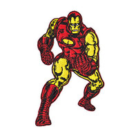 Iron Man Retro Iron-On Patch