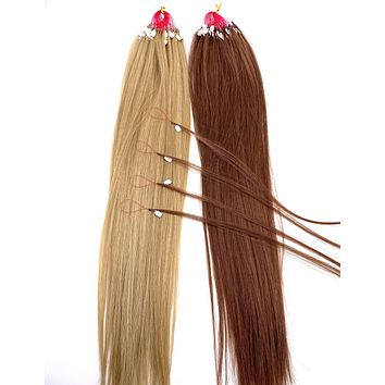 """VIP Collection's 100% Remy Human Hair Nanorex System 18"""" / Silky Straight"""