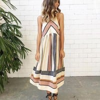 Casual Bohemian Chic Party Dress