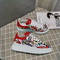 Alexander Mcqueen Graffiti Oversized Sneakers Reference #10