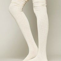 Free People Womens Dots Float Over the Knee