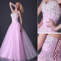 2017 Women Wedding Evening Dresses Bridesmaid Formal Prom Homecoming Ball Gowns