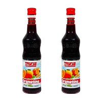 Free Shipping 2 Pack Toschi Grenadine Syrup, 19 oz.