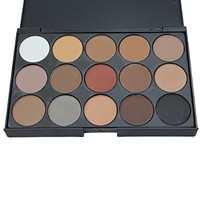 ReFaxi®15 Colors Women Cosmetic Makeup Neutral Nudes Warm Eyeshadow Palette New (15 Colors)