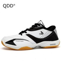 Outdoor Waterproof Tennis Shoes, Wearable Cow Muscle Sole Tennis Shoes, Anti-Slippery Hard Wearing Sports Tennis Shoes For Men.