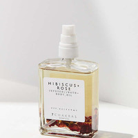 7 Chakras Soap Company Hibiscus Rose Bath + Body Oil | Urban Outfitters