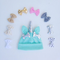 Unicorn Hat - Mint from Love What's Missing