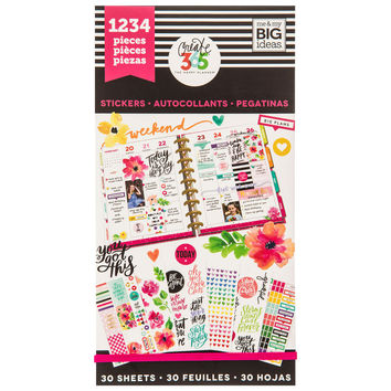 Today Is The Day Create 365 Happy Planner Stickers | Hobby Lobby | 1423482