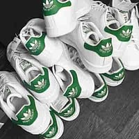 Adidas stan smith men and women trendy casual fashion sports shoes F green