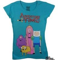 Adventure Time With Finn And Jake Indifferent Time Junior T Shirt