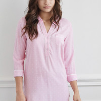 Classic Striped Nightdress - Intimates & Lounge - 2000053614 - Forever 21 UK