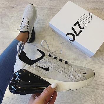 Nike Air Max 270 Air-permeable leisure half-palm air cushion running shoes