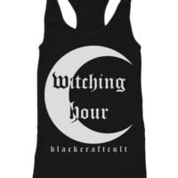 Witching Hour - Racerback Tank | Black Craft