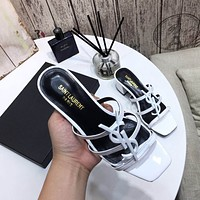 ysl fashion men womens casual running sport shoes sneakers slipper sandals high heels shoes 5