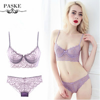 PASKE Bra And Panty Set Underwear