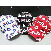 FILA tide brand wild men and women fashion cap baseball cap