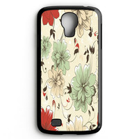 Vintage Flower Samsung Galaxy S4 Case