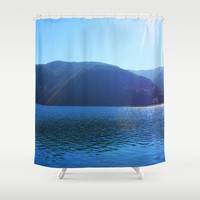 Olympic National Park landscape photography  Shower Curtain by NatureMatters