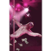 iphone 5 case Sloth Stripper Sloth Slothzilla by sharpshirter