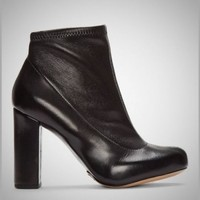 Chloe Black Stretch 100MM Bootie Multiple Sizes