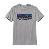 Patagonia Men's Legacy Label Cotton/Poly T-Shirt- Drifter Grey