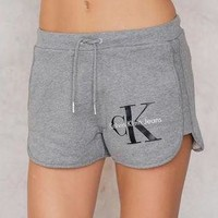 One-nice™ Calvin Klein Women Casual Strappy Shorts