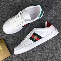 GG Trending Bee Embroidery Old Skool Sneakers Sport Shoes