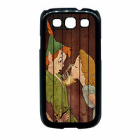 Wendy Kiss Peterpan Wood Samsung Galaxy S3 Case