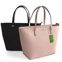 KATE SPADE Women Shopping Leather Handbag Tote Satchel H-YJBD-2H-8