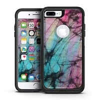 Fibrous Watercolor - iPhone 7 or 7 Plus Commuter Case Skin Kit