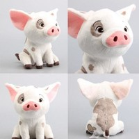22cm Movie Moana Pet Pig Pua Stuffed Animals Cute Cartoon Plush Toy Dolls Soft