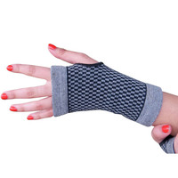Evelots 2 Bamboo Elastic Wrist Wrap Support Gloves/Arthritis & Carpal Tunnel