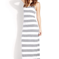 Out To Sea Striped Maxi Dress