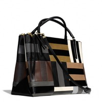 THE LARGE BOROUGH BAG IN PATCHWORK LEATHER