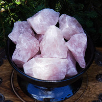 Rose Quartz Gemstone Natural Raw