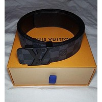 LV Louis Vuitton Fashion Leather Belt-4