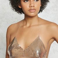 Chain Mail Bralette Body Chain