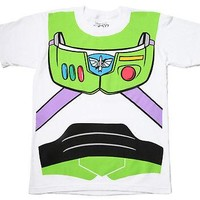 Disney Toy Story Shirt - Buzz Lightyear Costume T-Shirt