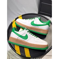 Nike M Air Force 1 2018 summer new Oxford cloth original bottom sneakers F-CQ-YDX Green