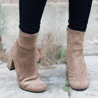 Infinite Camilla Heel Booties