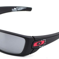 New Oakley Sunglasses Fuel Cell SI B. Ross American Heritage #9096-I660 In Box