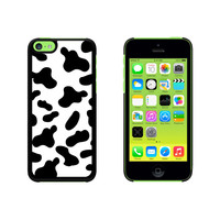 Cow Print Black White Case for Apple iPhone 5C