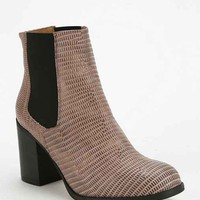 To Be Announced X UO Heeled Ankle Boot- Neutral