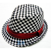 Fashion Kids Baby Fedora Hats Jazz Cool Toddler Boy Girl Cap Pography Top Hat Cotton Trilby