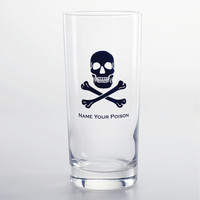 Skull & Crossbones Highball Glasses, Set of 4 - World Market